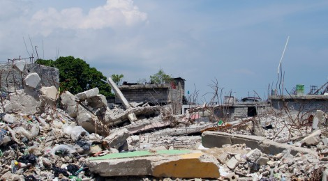 Downtown Port-au-Prince six months after the devastating 2010 Earthquake. by Anna Konotchick