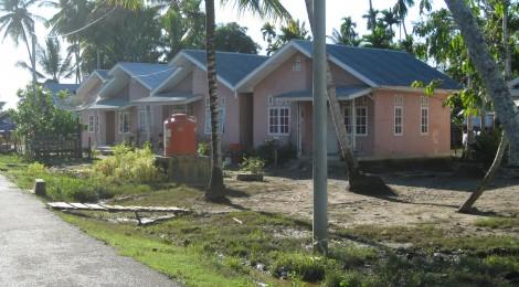 Post-tsunami housing in Indonesia