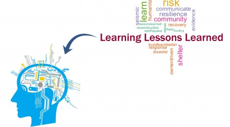 """Learning """"lessons learned"""" from past disasters"""